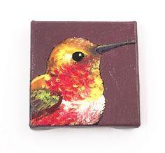 Hummingbird Painting Housewarming Gift by desertvalleystudio $15