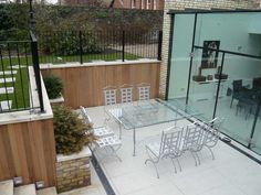 basement ideas how the garden related to the courtyard structurally