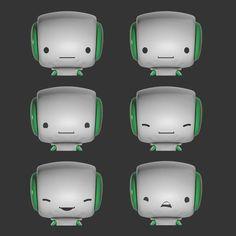 How to build you own robot by Dusan Cezek, via Behance Robot Design, Game Design, Character Concept, Character Design, Build Your Own Robot, Doodle Monster, Futuristic Robot, Robot Cartoon, Humanoid Robot
