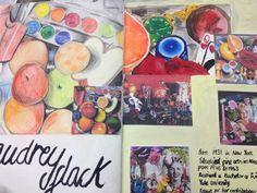 Audrey Flack artist page