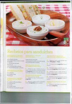 Livro 150 receitas as melhores 2011 Healthy Food, Healthy Recipes, Cheesesteak, Picnic, Main Courses, Sauces, Cook, Mayonnaise, Meals