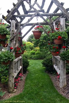 Rustic arbor… - All About Garden Arbor, Garden Trellis, Garden Gates, Lawn And Garden, Garden Table, Rustic Gardens, Outdoor Gardens, Rustic Arbor, Gazebos