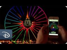 Disney's California Adventures: The Fun Wheel Challenge. Play along with the Fun Wheel by trying to match the color patterns with your smart phone, This sounds fun! -  Disney Parks