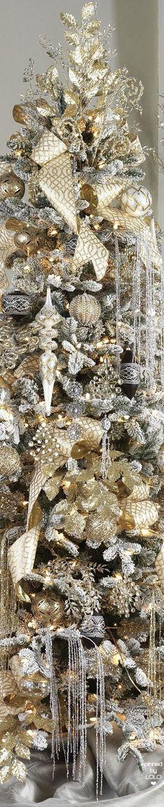 Raz A Formal Affair Christmas Tree Elegant Christmas Trees, Gold Christmas Tree, Christmas Tree Themes, Christmas Tree Toppers, Christmas Colors, Xmas Tree, Christmas Tree Decorations, Christmas Holidays, Christmas Wreaths