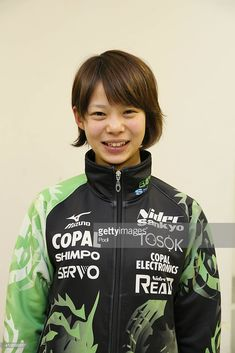 Nana Takagi of the Japan Speed Skating squad poses during a press conference for the Sochi Winter Olympics at M Wave on December 2013 in Nagano, Japan. Winter Olympics, Squad, Skate, Waves, Hoodies, Nagano Japan, Conference, December, Fashion