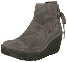 72dd3e97 Fly London Women's Yama Suede Platforms Boots: Amazon.co.uk: Shoes &  Accessories