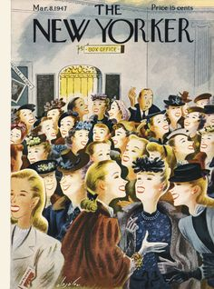 The New Yorker - Saturday, March 8, 1947 -  Cover by Constantin Alajálov