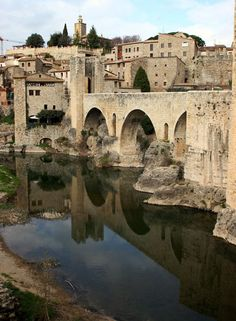 SPAIN.... Besalú - this village is a 'must visit' while in the area.