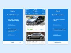 FirstCar Mobile App by Michael J. Craig