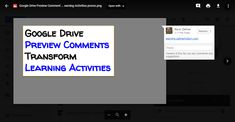 The Google Drive preview for images and PDFs has a comment tool that works great for cooperative analysis. This post shares how we use the comment tool for cartoon analysis in a student-centered activity. Google Drive, Instructional Strategies, Learning Activities, Classroom, Student, Technology, Education, Connect, Cartoon