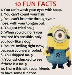 Internet is great source of fun and cool things, Minions are currently trending all over place, well we have some really funny biggest collection of Minions memes jokes laughing Funny Texts Jokes, Funny Minion Memes, Funny School Jokes, Some Funny Jokes, Minions Quotes, Crazy Funny Memes, Really Funny Memes, Funny Facts, Funny Relatable Memes