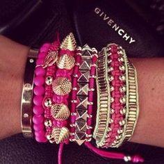Givenchy bracelets. Yes Pls
