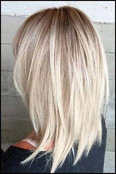 10 unordentliche mittlere Frisuren für dickes Haar #dickes #frisuren #mittlere #unordentliche
