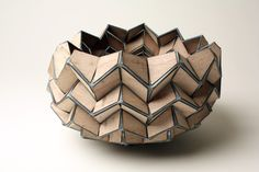 Wave I Plywood. Material: Plywood and Polyester Fabric  Belgian artist/ designer: Tine De Ruysser