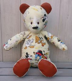 Bespoke Memory bears custom made to order from garments with special memories.Retro Bears are individually handmade using resourced & original vintage fabrics