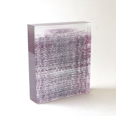 Emma Varga, Seattle - Pink Shrub, 2014, fused, cast & polished glass, | sabbia gallery