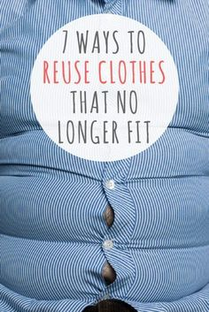 Want to know some great ways to reuse clothes that you don't fit? From upcycli. - Want to know some great ways to reuse clothes that you don't fit? From upcycling it into a pillow - Sewing Hacks, Sewing Projects, Diy Kleidung Upcycling, Alter Pullover, Recycle Old Clothes, Diy With Old Clothes, Clothing Hacks, Refashioning, Diy Fashion