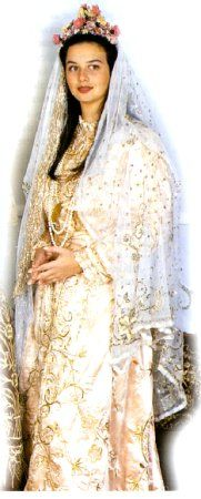 Traditional Turkish wedding dress .. i want that veil for my wedding, to show my Turkish side!