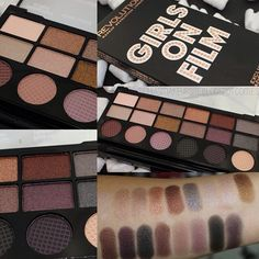 Makeup revolution palette swatches