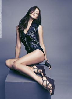 Irina Shayk for Xti Footwear Ad Campaign (Spring 2014) photo shoot
