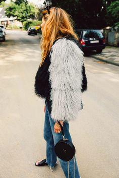 m File + Street Style + Denim www.emfashionfiles.com