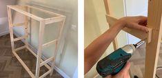 I stedet for at betale i dyre domme for et skab med flet, lavede Esther sit eget! | Boligmagasinet.dk Ikea Hack Kids, Diy Cabinets, Diys, Bamboo, Home Appliances, Interior Design, Home Decor, Buffets, Dressers