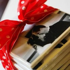 make your own photo coasters