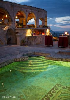 The Museum Hotel, a luxury cave hotel in Cappadocia that is actually a museum! Click to learn more about it.