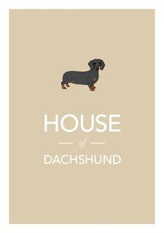 Dachshund print illustration typographic sausage by jamesweaver, http://@Kelly Emme Its audrey! ___ Trullly LOVE your dogs? VISIT our website now!