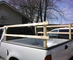 New Wooden Truck Bed Rails