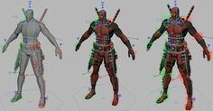Check and Download this 3d Model free download, free Deadpool IK/FK character rig for Autodesk Maya. The 3d character is shared by Kiel Figgins, is an Animation Guru who has been working on many blockbuster like Avengers: Age of Ultron, Terminator: Genisys and X-Men: First Class and Decepticon Truck Crawl animated shot. >>> Download 3D …