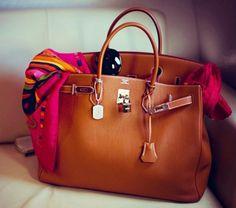 Hermés Birkin bag ~ in my dreams!