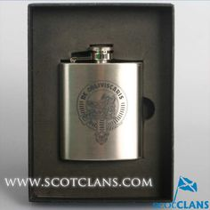 Campbell Clan Crest Flask