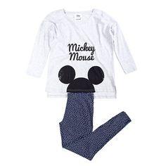 Mickey long cotton pyjama.