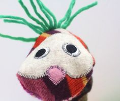 funky sweater puppet