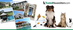 Register for TrustedHousesitters.com & get new house sites in your inbox before 24 hrs displayed on the website.