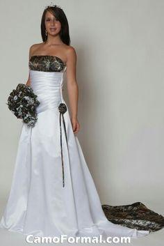 Camo wedding dress Keywords: #weddings #jevelweddingplanning Follow Us: www.jevelweddingplanning.com  www.facebook.com/jevelweddingplanning/