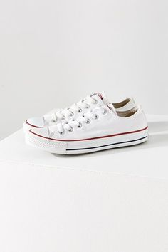 Every girl needs a classic pair of Chuck Taylor low-top sneakers in her closet!