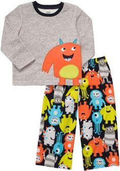 Amazon.com: Carter's Boys 2-Piece Monster Pajamas: Clothing