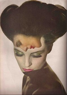 Melvin Sokolsky taking pictures of Diane Arbus for Harper's Bazaar ,April 1964