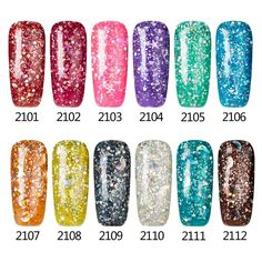 Modelones Diamond Glitter Nail Gel Varnish Soak Off Professional Gel Nail Art Green Color Gel Nail Base Coat Top Coat Gel-in Nail Gel from Health & Beauty on Aliexpress.com | Alibaba Group