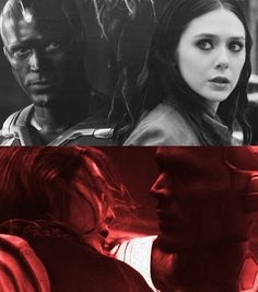The Vision and Scarlet Witch/ Wanda Maximoff
