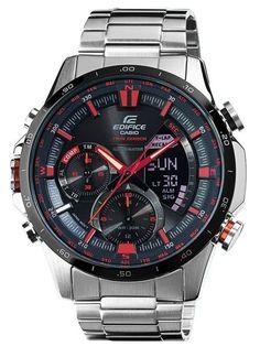 f4938b18079a Relógio CASIO EDIFICE ACTIVE RACING - ERA-300DB-1AVER Reloj Del Mundo