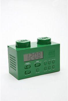 lego stereo alarm clock
