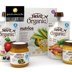 Silver Pentaward 2014  Food - Food trends Brand: Heinz Organic Entrant: Point 3 Design Country: AUSTRALIA www.point3.com.au