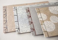 Learn four different stitches for this historical Japanese bookbinding structure: Four-hole, Noble, Hemp Leaf and Tortoise Shell. Single sheets are stacked and bound to create this simple and elegant binding. These are great books to use for sketchbooks, journals, photo albums and artists' books. What you will learn: — Preparing paper and cover for binding — Creating sewing stations for binding — Four-hole, nobile, hemp leaf, and tortois…