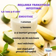 Sănătate la pahar cu SEMINȚE și NUCI - Servus Expert Smoothie Prep, Juice Smoothie, Smoothie Recipes, Healthy Recepies, Healthy Smoothies, Healthy Drinks, Healthy Food, Baby Food Recipes, Diet Recipes