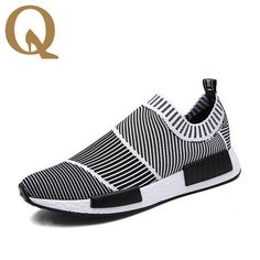(39.44$)  Watch now - http://aiz0r.worlditems.win/all/product.php?id=32797078841 - New Fashion Breathable Men Shoes High Quality Human Race Casual Air permeable  shoes knitting size 6.5-9