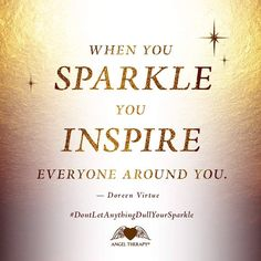 ...sparkle...