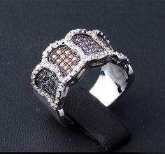 Doris Colorful Interaction Design Engagement Ring